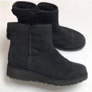 Ugg Short Black Boots